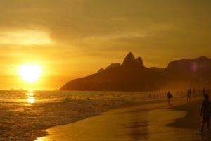Le belle plage d'Ipanema
