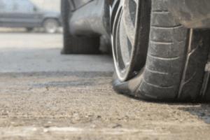 dépannage pneus crevé