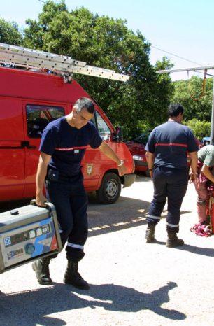 Interpellation des présumés voleurs et incendiaires de véhicules de pompiers