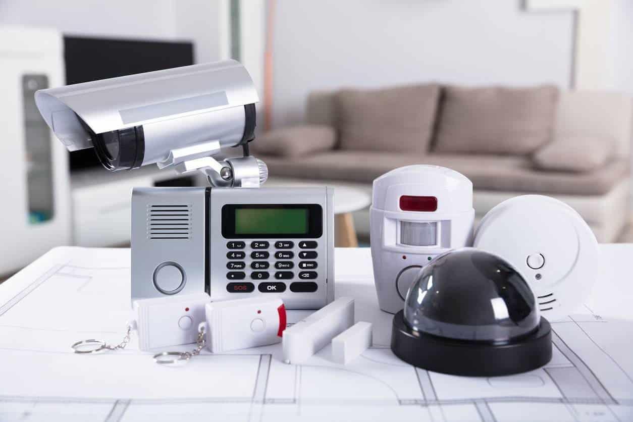 télésurveillance et alarme de maison
